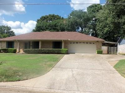 Gregg County Single Family Home For Sale: 1809 Blueridge Parkway