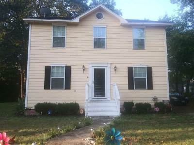 Marshall Single Family Home For Sale: 904 E Crockett