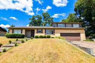Henderson Single Family Home For Sale: 1510 Duncan Dr