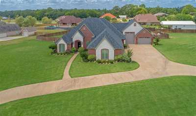 Longview, Carthage, Hallsville, Kilgore, Henderson, Tatum, Beckville, Gary, Elysian Fields, Diana, Ore City, Harleton, Gilmer, Gladewater, Sabine, Daingerfield Single Family Home For Sale: 145 County Road 1131