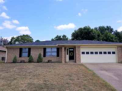 Henderson TX Single Family Home Active, Cont Upon Loan Ap: $139,500