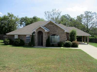 Marshall Single Family Home Active, Option Period: 1702 B L Pyle Rd