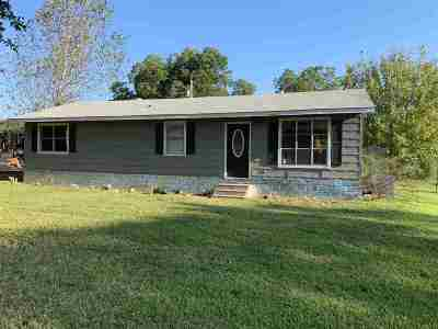 Beckville TX Single Family Home For Sale: $59,900