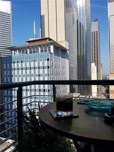 Downtown Dallas Condo Active Option Contract: 1505 Elm Street #Ph