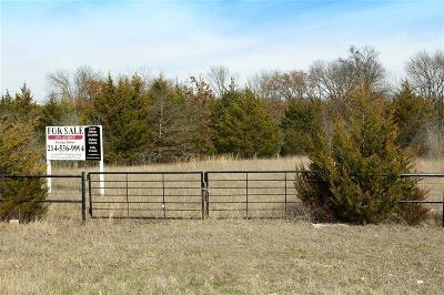 Melissa Residential Lots & Land For Sale: 15 Acres Fm 2933