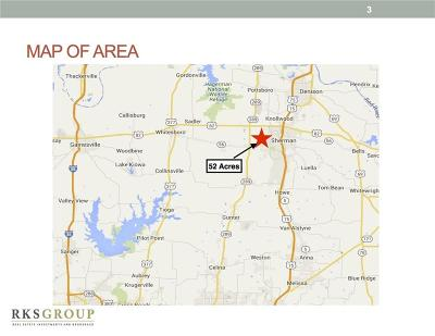 Sherman TX Commercial Lots & Land For Sale: $1,040,000