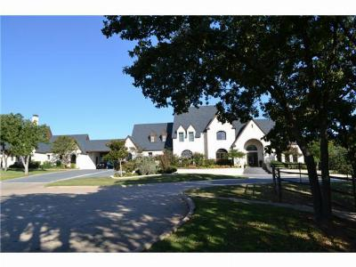 Single Family Home Sold: 8501 Cross Timbers Road