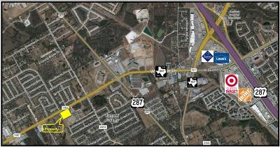 Mansfield Commercial Lots & Land For Sale: 1715 Fm Road 1187