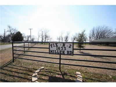 Melissa Farm & Ranch For Sale: 1633 Miller Road