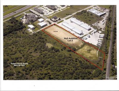 Denton Commercial Lots & Land For Sale: 2501 Worthington Drive
