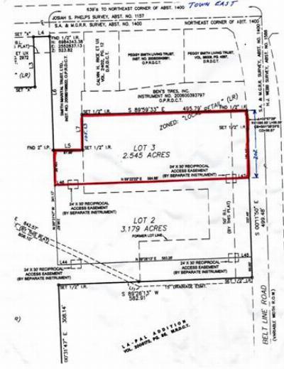 Sunnyvale Commercial Lots & Land For Sale: 3521 Beltline