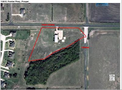 Prosper Residential Lots & Land For Sale: 1100 E Frontier Parkway