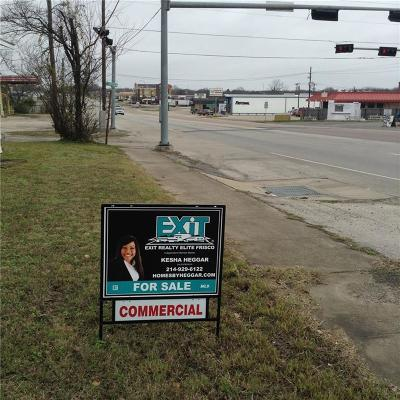 Coolidge, Mexia, Mount Calm Commercial For Sale: 404 N Echols Street