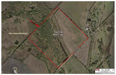 Rockwall Farm & Ranch For Sale: 0010 Klutts Road