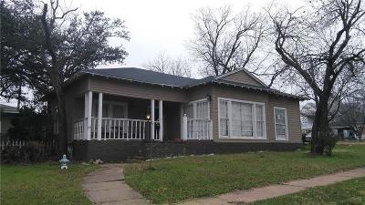 Cisco Single Family Home For Sale: 511 W 7th Street
