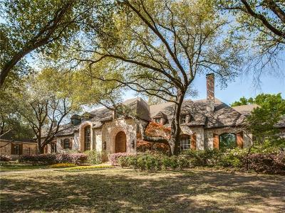 Dallas Single Family Home For Sale: 4215 Cochran Chapel Road
