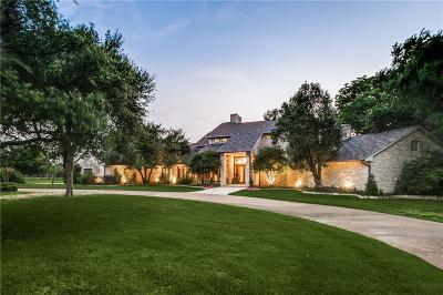 Prosper Single Family Home For Sale: 861 N Preston Road