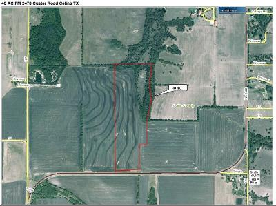 Celina, Carrollton Farm & Ranch For Sale: Fm 2478