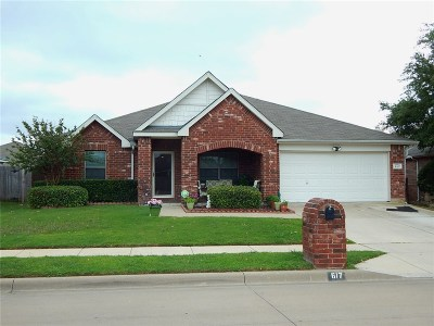 Fort Worth TX Single Family Home For Sale: $202,000 PENDING