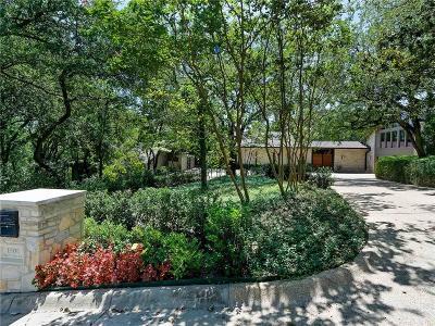 Tarrant County Single Family Home For Sale: 1501 Shady Oaks Lane