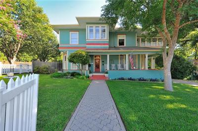 Weatherford Single Family Home Active Contingent: 414 W Lee Avenue