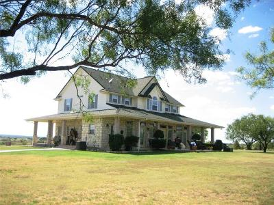 Comanche TX Single Family Home For Sale: $449,000