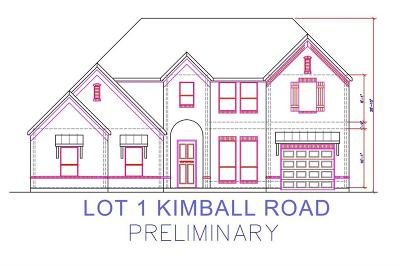 Grapevine Single Family Home For Sale: Lot 1 Kimball Road