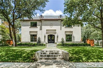 Dallas, Highland Park, University Park Single Family Home For Sale: 4400 Beverly Drive