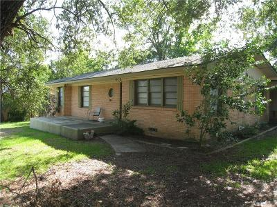 Canton Single Family Home For Sale: 811 S Trade Days Boulevard