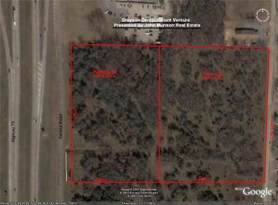 Grayson County Commercial Lots & Land For Sale: 0000 S Hwy 75