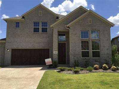 Mansfield Single Family Home For Sale: 2106 Bent Creek Way
