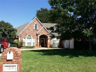 Single Family Home Sold: 1316 Waterwood Drive