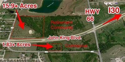 Rockwall Farm & Ranch For Sale: 880 Fm 1141 John King Boulevard