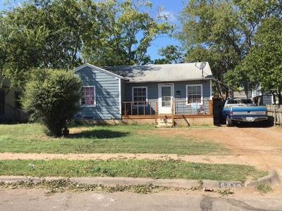 Dallas Single Family Home Active Option Contract: 6819 Prosper Street