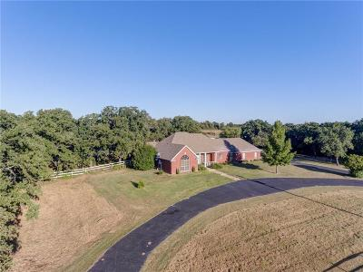 Weatherford Single Family Home For Sale: 3550 Old Dennis Road
