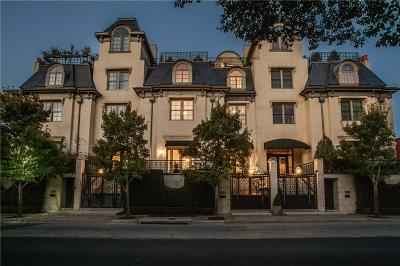 Dallas TX Townhouse For Sale: $1,949,000