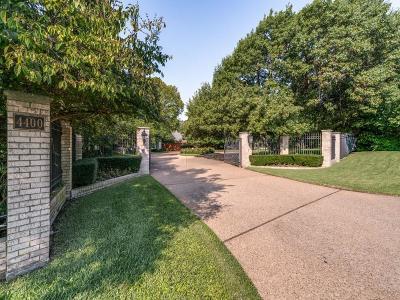 Dallas Single Family Home For Sale: 4400 Williamsburg Road