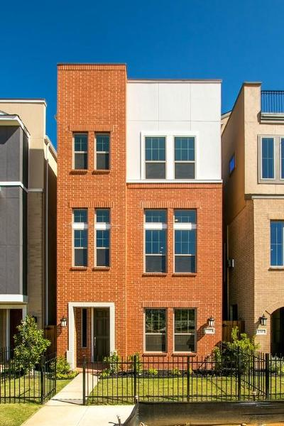 Dallas Townhouse For Sale: 1353 Branchwood Place