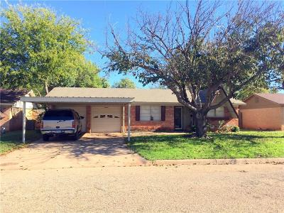 Abilene Single Family Home For Sale: 2610 S 40th