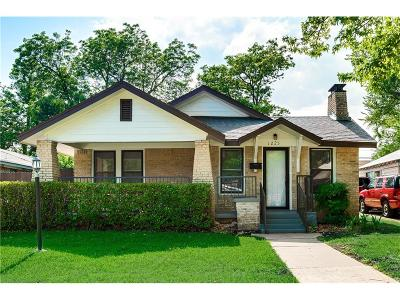 Dallas Single Family Home For Sale: 1225 Hollywood Avenue