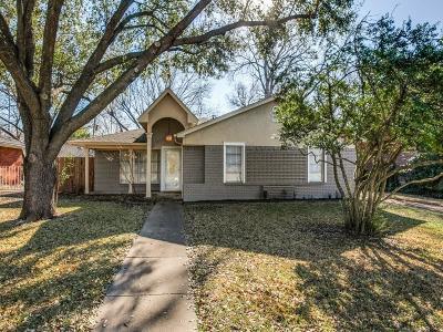 Dallas Single Family Home For Sale: 10012 Creekmere Drive