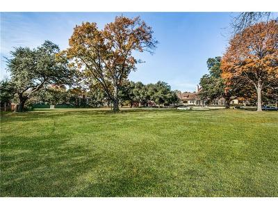 Highland Park Residential Lots & Land For Sale: 4311 Rheims Place