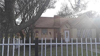Dallas Single Family Home For Sale: 1600 S Beckley Avenue