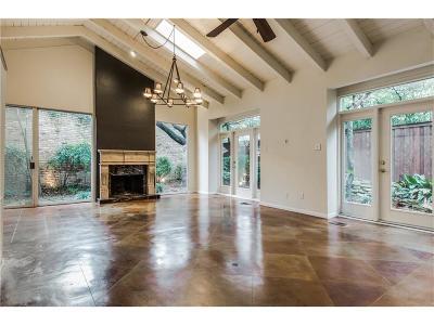 Dallas Townhouse For Sale: 4346 Cochran Chapel Circle