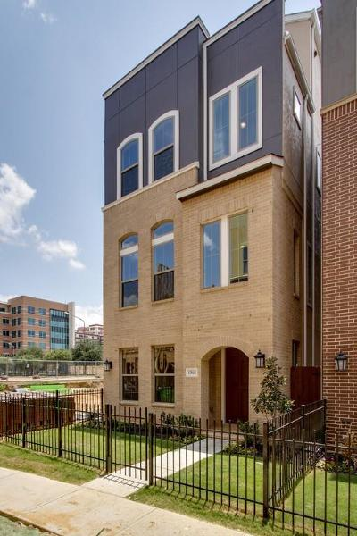 Dallas Townhouse For Sale: 1366 Branchwood Place