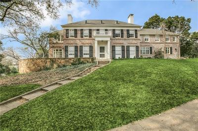 Dallas Single Family Home For Sale: 3925 Stonebridge Drive