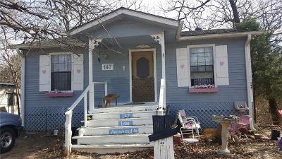 Mabank Single Family Home For Sale: 147 Lake Arrowhead Drive
