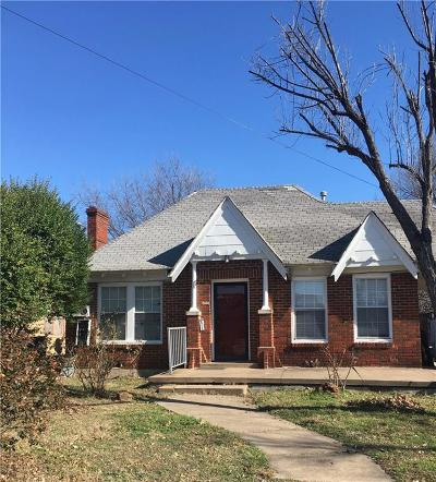 Dallas Single Family Home For Sale: 2030 N Prairie Avenue
