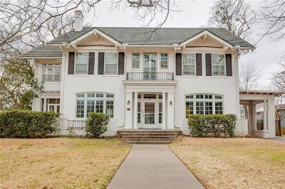 Single Family Home For Sale: 1212 S Crockett Street