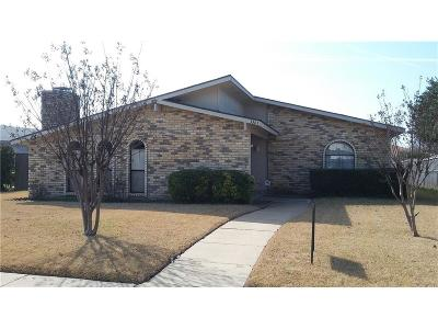 Garland Single Family Home For Sale: 3301 Pamela Place